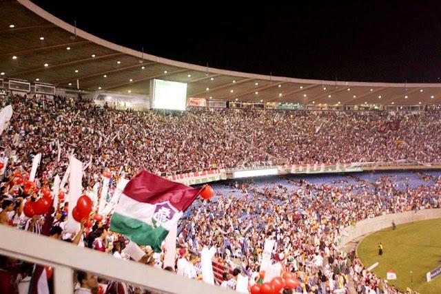 Pacote para jogo de futebol no Rio - Arquibancada do time do Fluminense
