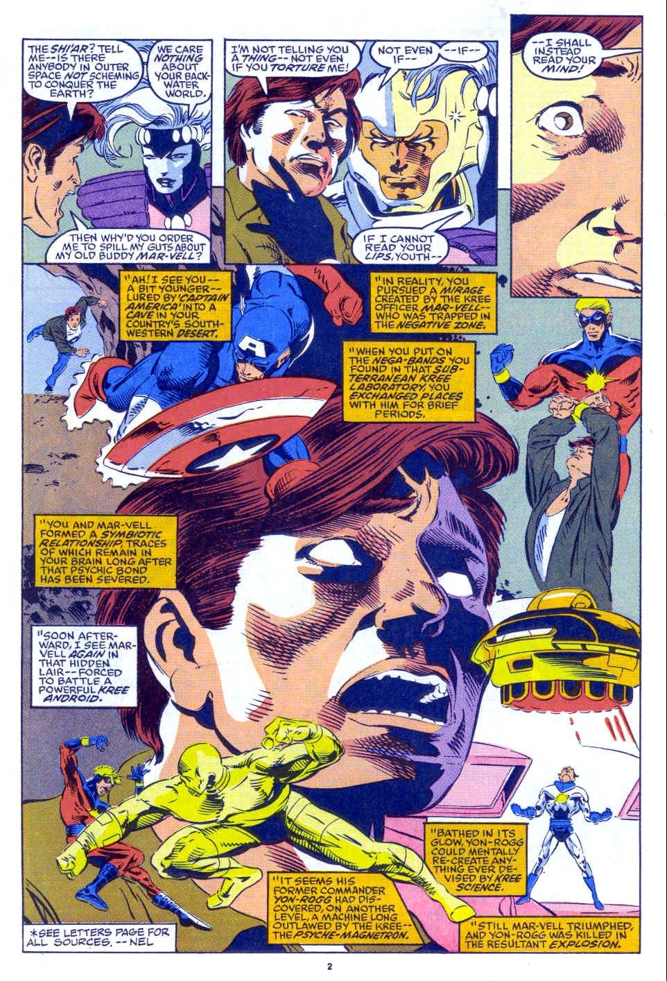 Captain America (1968) Issue #398b #332 - English 3