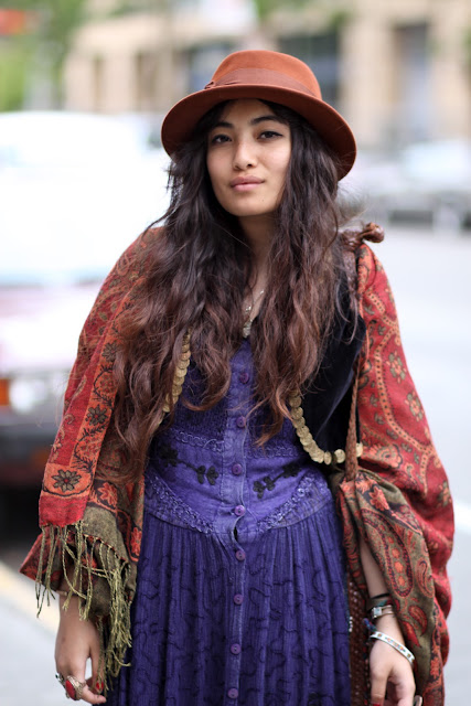 Theresa Endodo Seattle Street Style Fashion BOHO Gypsy It's My Darlin' Hat