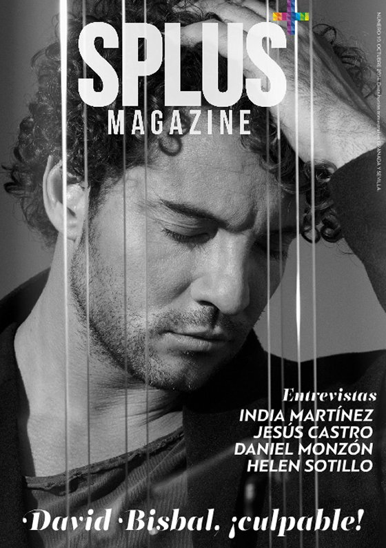 David Bisbal para Splus Magazine, portada, octubre 2014