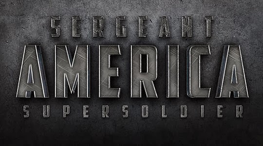 "Create a Cinematic ""Sergeant America"" Text Effect in Photoshop"