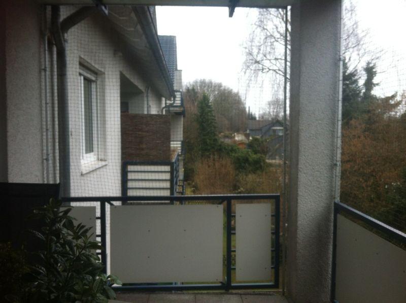 ... ein Katzennetz: Katzennetz anbringen ohne bohren. Katzennetz Balkon