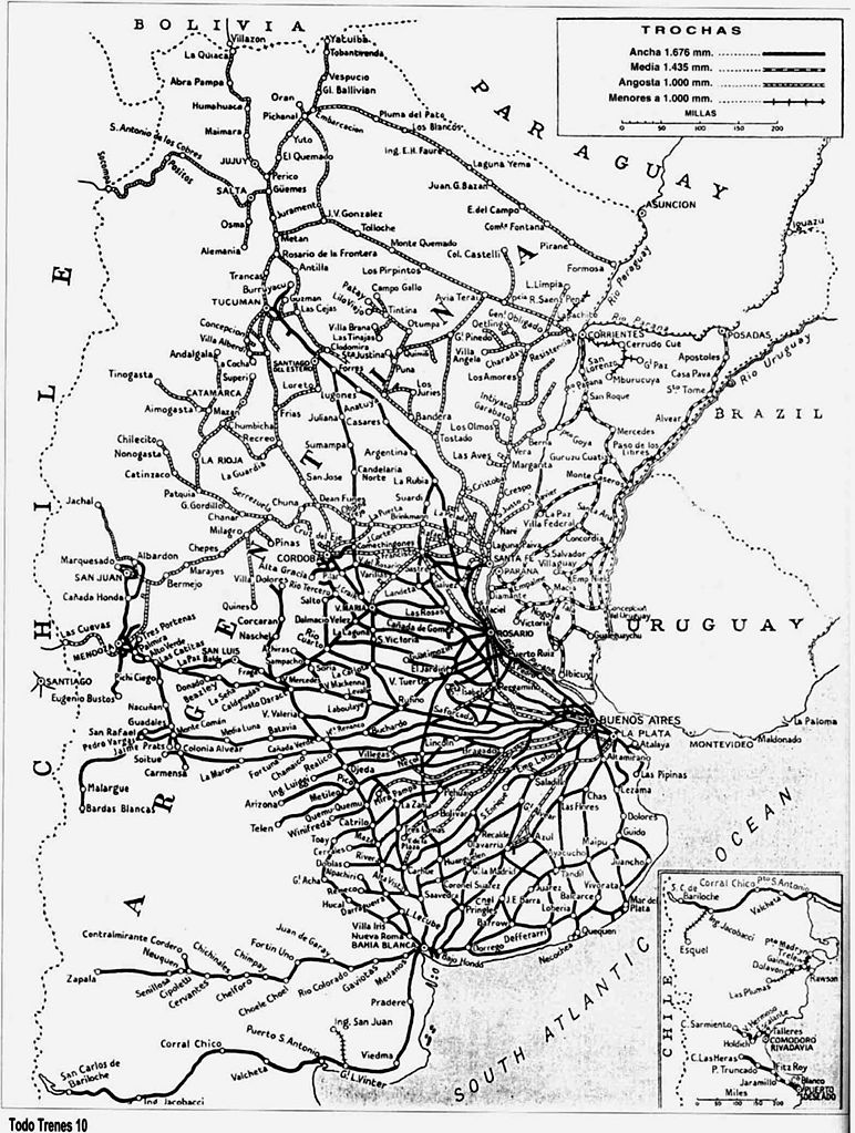 Las venas abiertas del ferrocarril argentino, una herida que jamas cerrara.