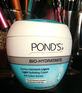 oily skin ponds bio-hydratante hydration cream