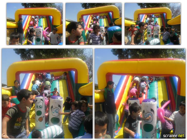 Bonita y entretenida fiesta en jardin los molinos de for Jardin infantil nubesol villa alemana