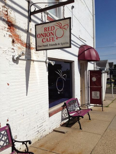 Red Onion Cafe Monroe Ohio