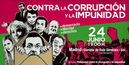 Contra la corrupción y la impunidad