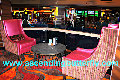 View of the Casino Floor from 10 North Lounge Tropicana Atlantic City Casino