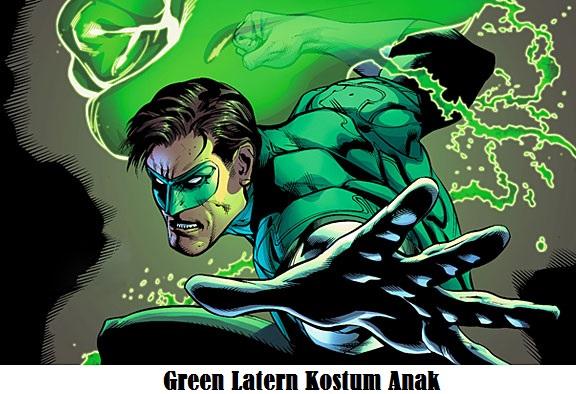 baju anak green latern