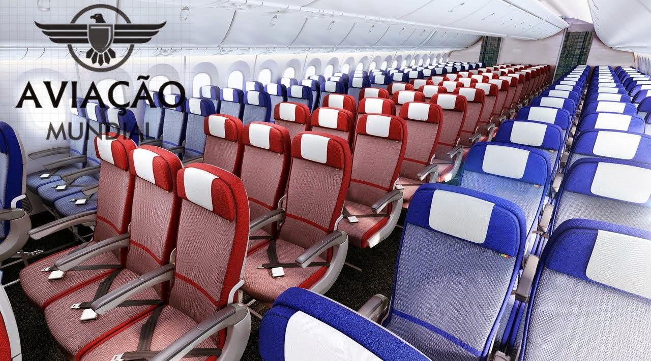 LAN e TAM revelam novo design para suas cabines