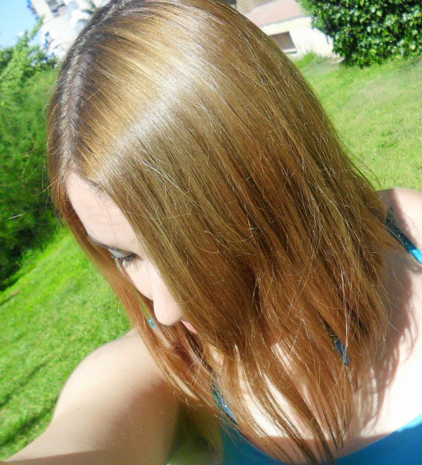 cuarta aplicacion para matizar el cabello rubio