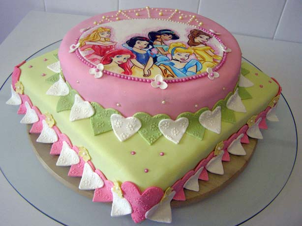 Los Naranjos - Arte en Repostería: Nueva Tarta Princesas Disney de ...