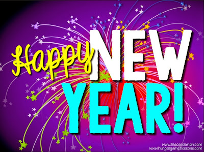 Happy New Year! From www.hungergameslessons.com and www.traceeorman.com