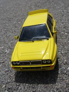 Lancia delta HF integrale diecast motorama