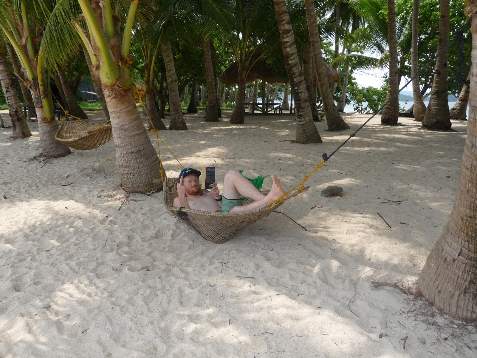 reading on german island in the broken hammock the path of smiles  port barton   the better el nido  rh   pathofsmiles blogspot
