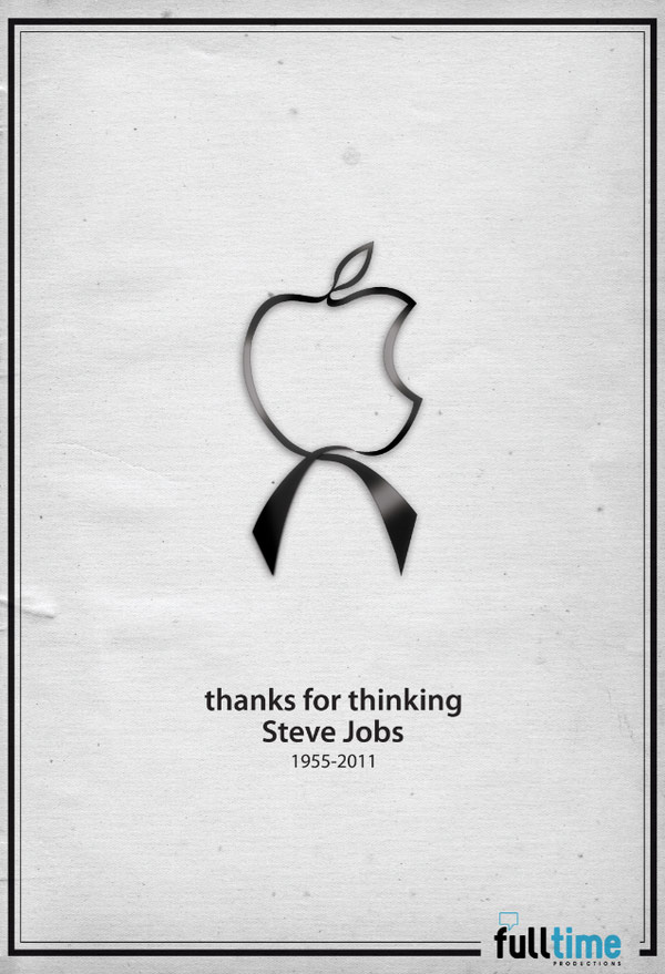 maclace 20 Awesome Graphical Tributes to Steve Jobs