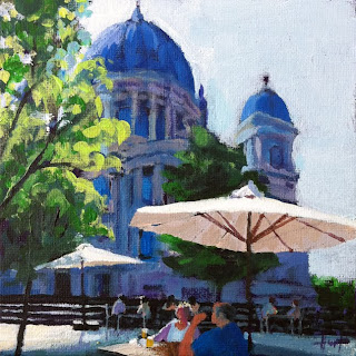 Besides the Berlin Cathedral by Liza Hirst