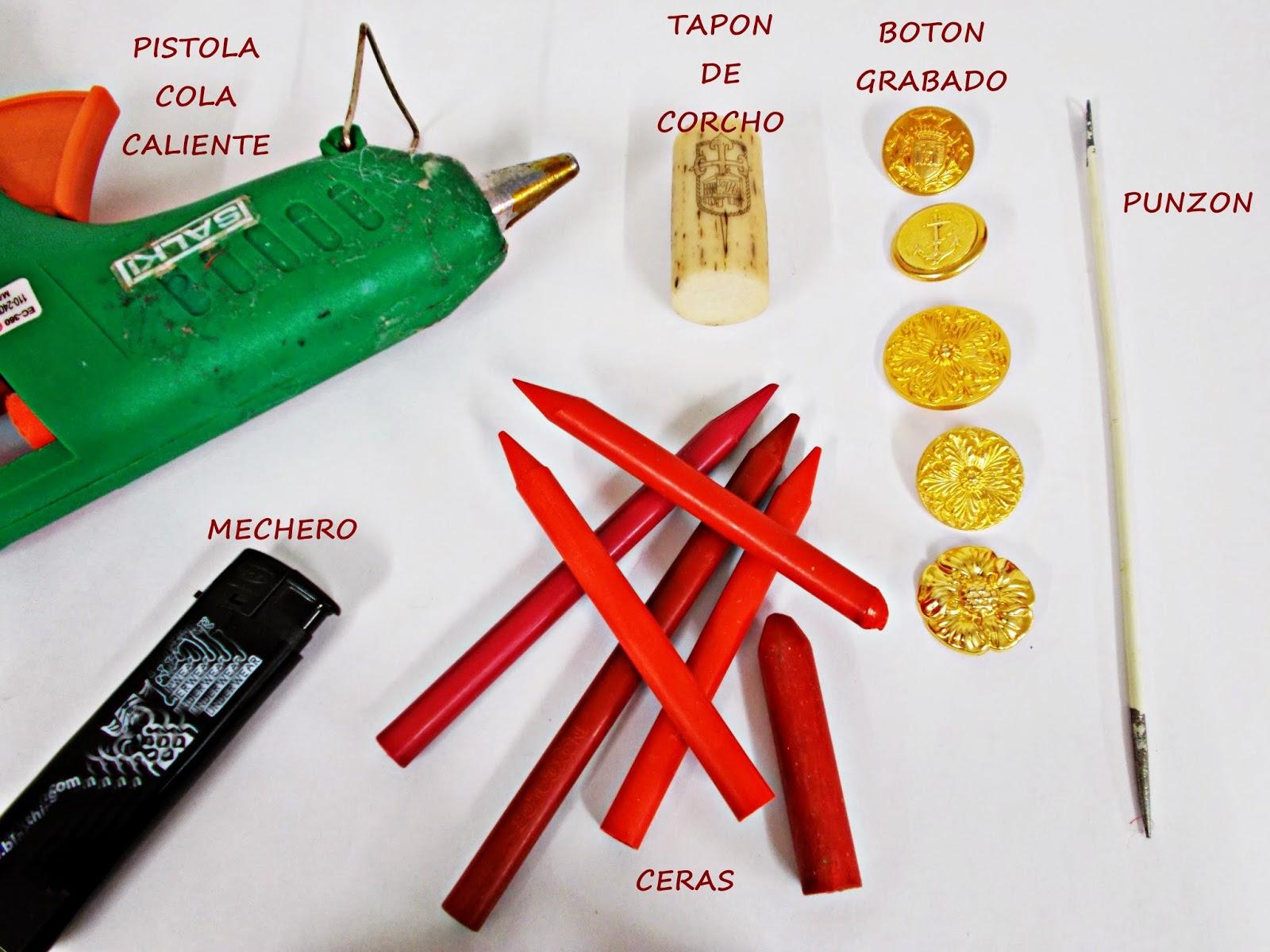 DIY-manualidades-sello-lacre-pergamino-materiales
