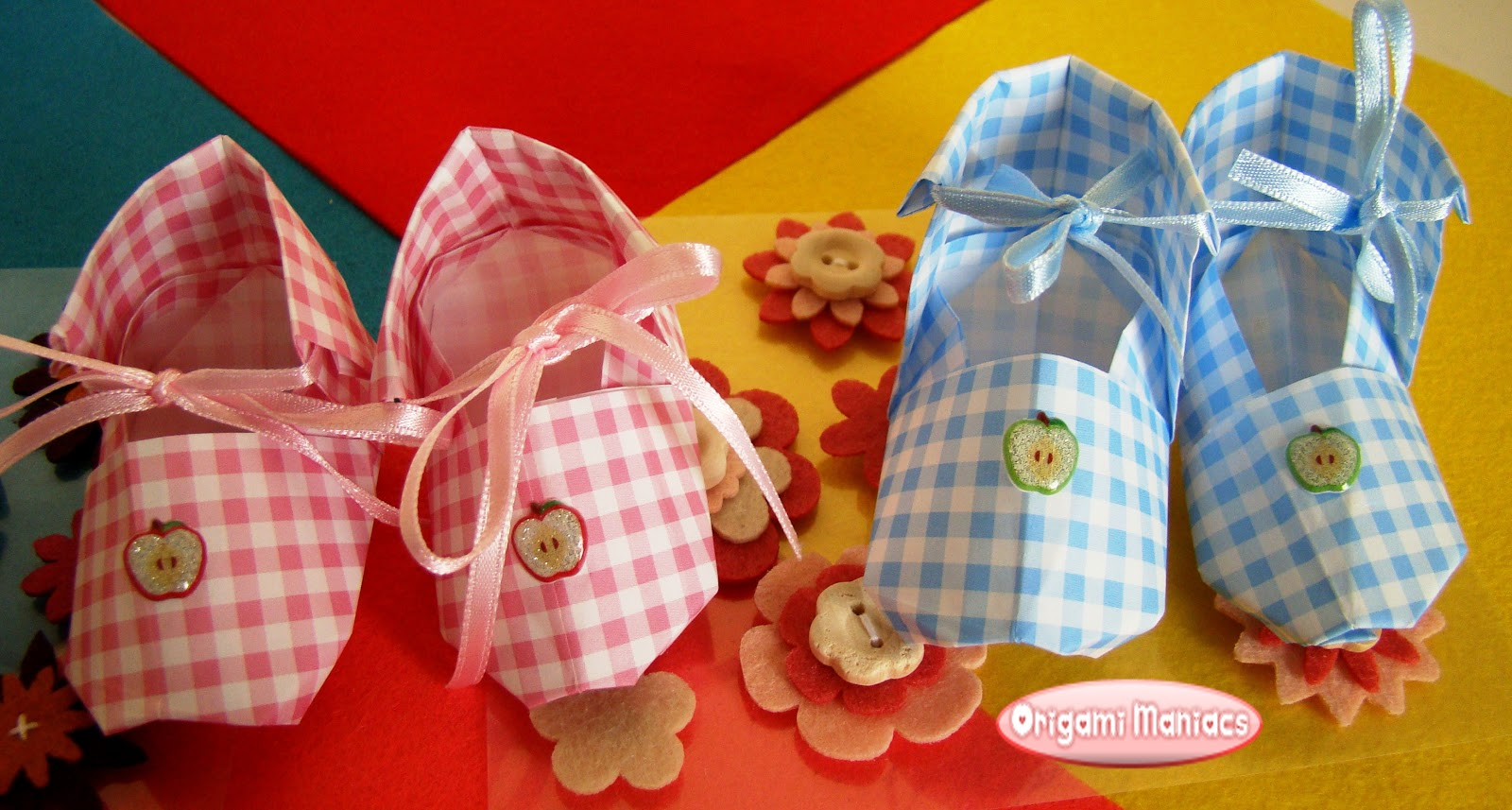 Origami Maniacs Baby Shoes