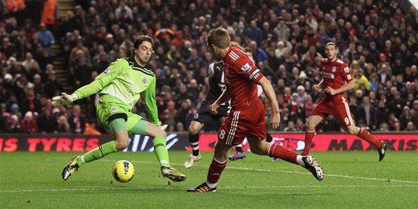 Prediksi Skor Liverpool vs Newcastle United 4 November 2012