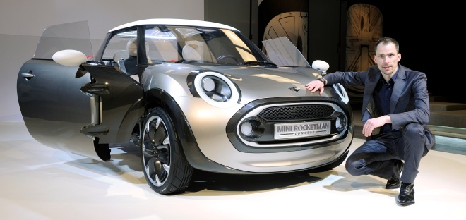 Mini Rocketman and Anders Warming, Mini design chief