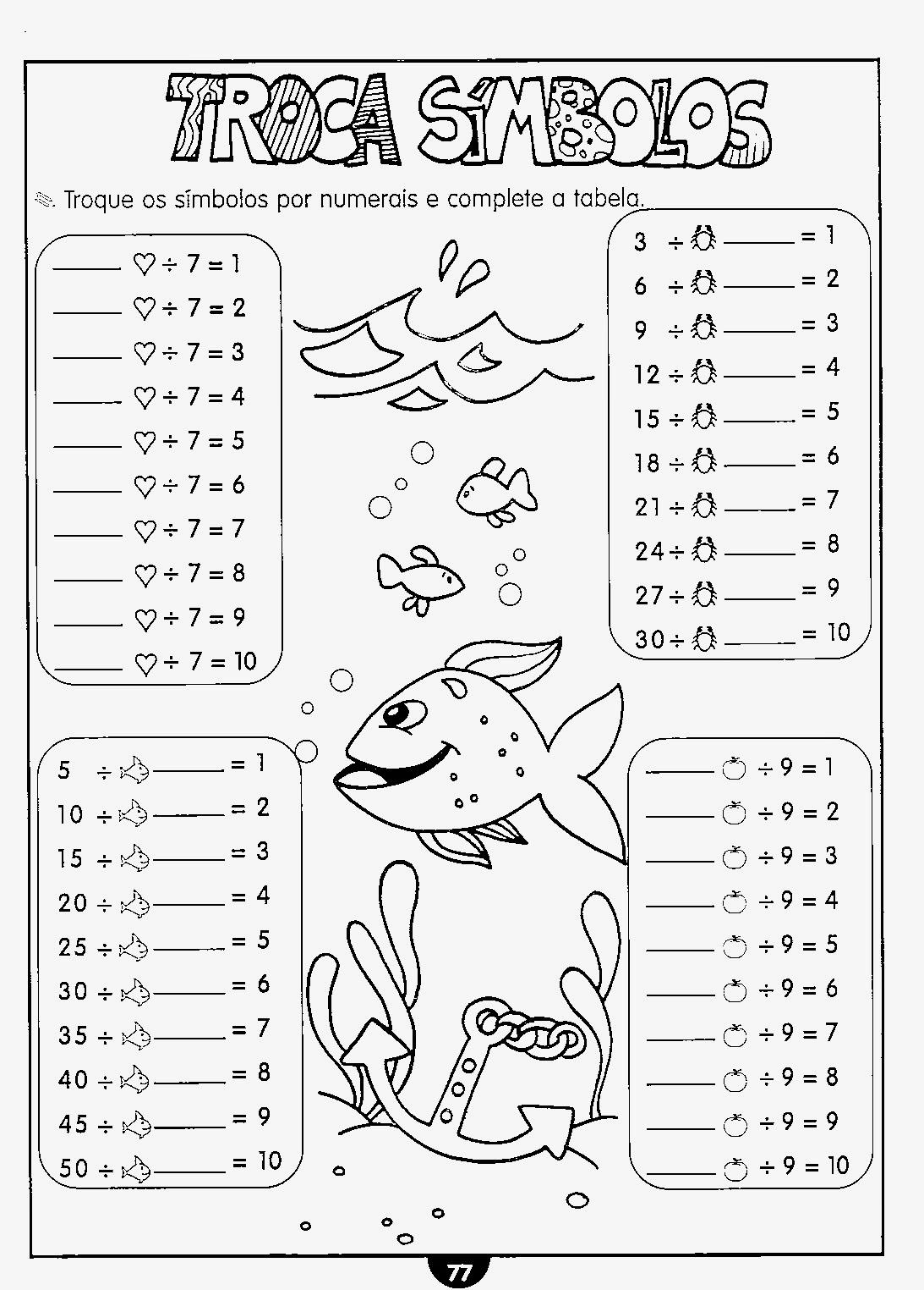 Atividades prontas de matemática 2 ano