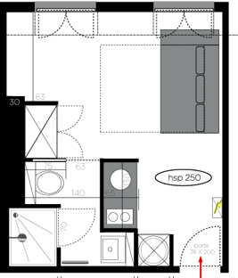 Solutionappart am nagement d 39 un studio de 20m2 - Amenagement chambre 20m2 ...