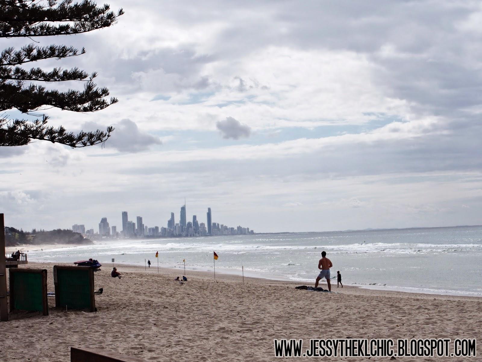 Travel: Burleigh Beach (Gold Coast, Australia)