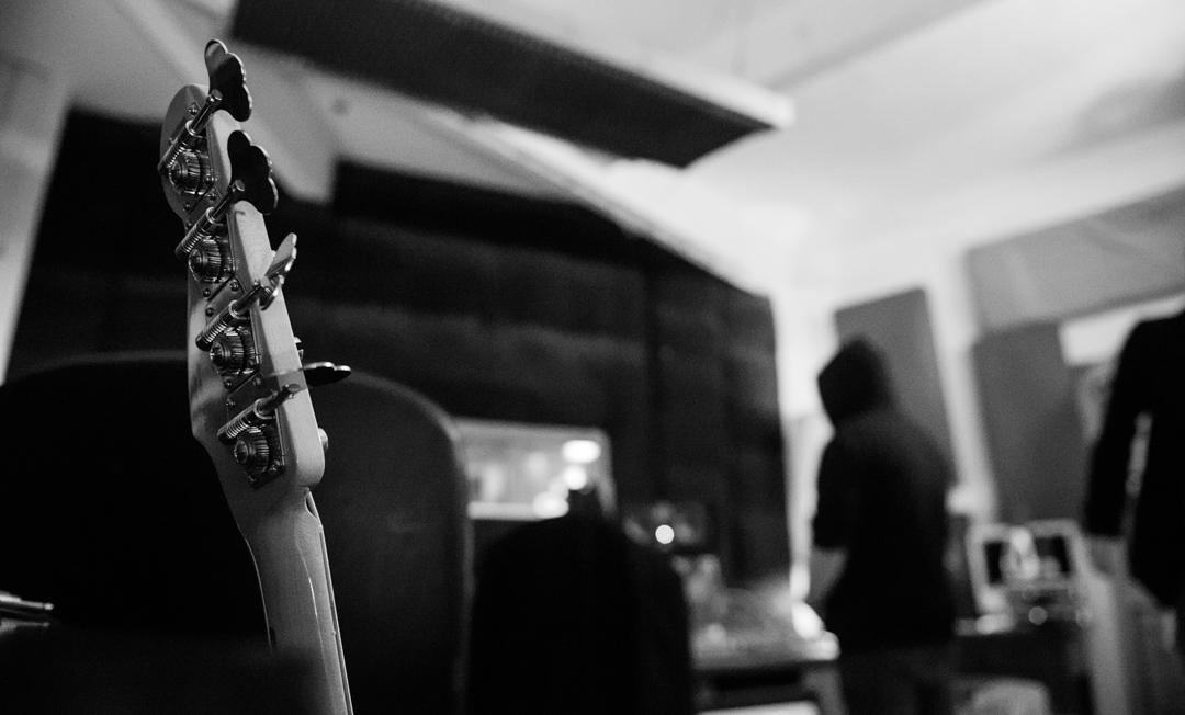 Birmingham recording studio Park Studios JQ | bass guitar