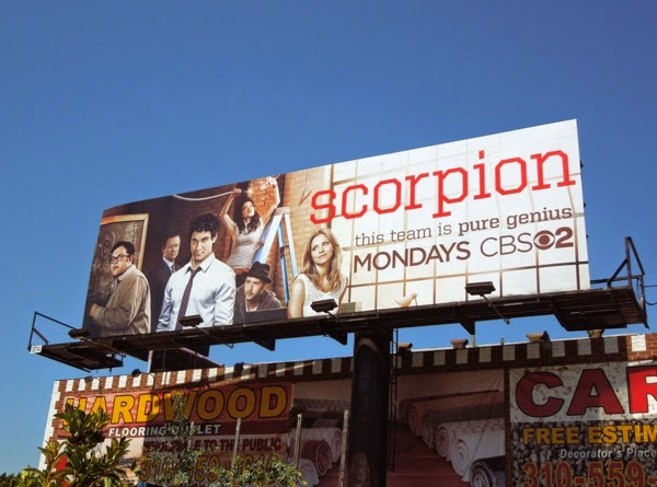 Scorpion series premiere billboard