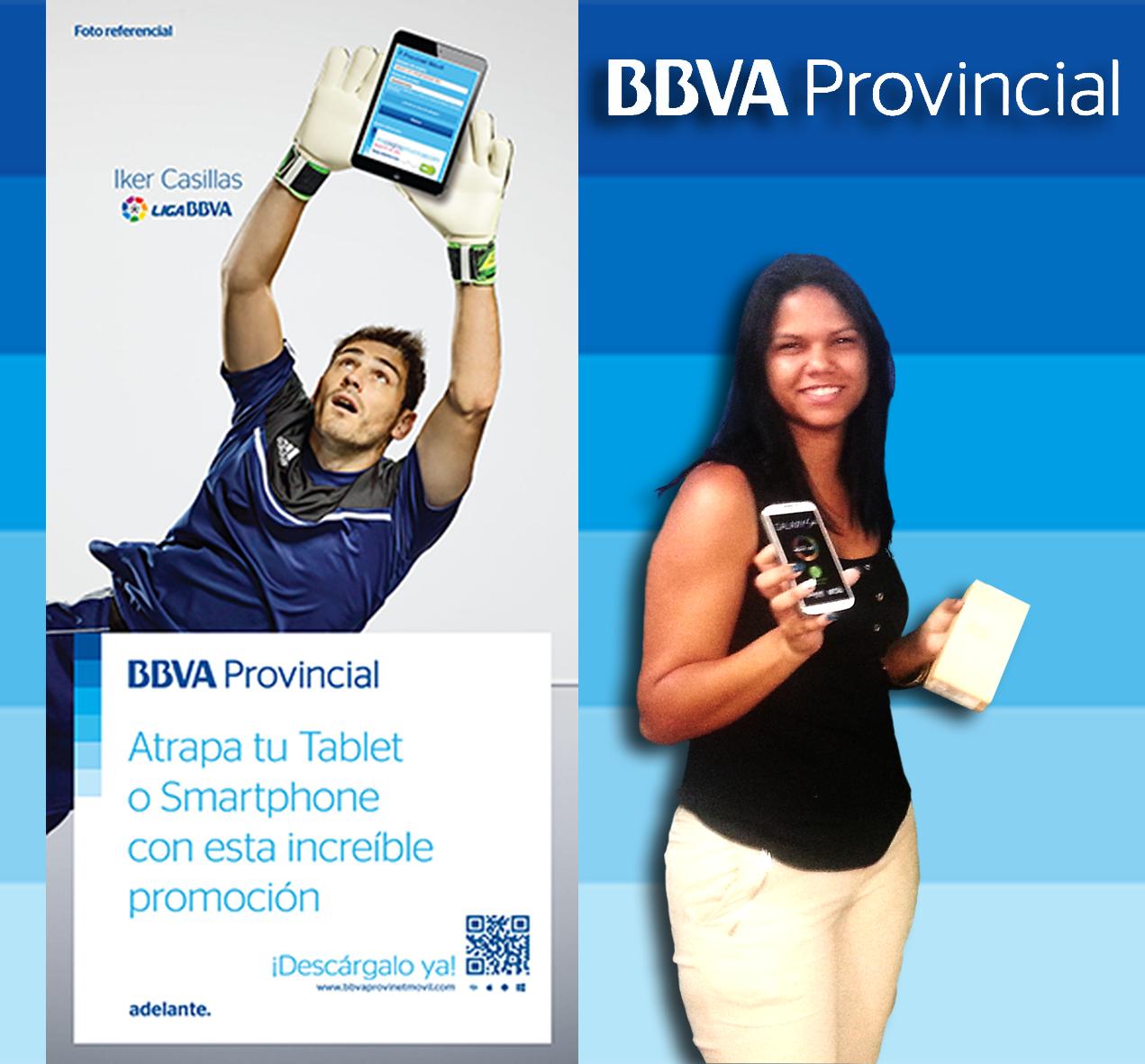 BBVA Provincial, Provinet, Promocion, Tablet, Smartphone, Ganadores