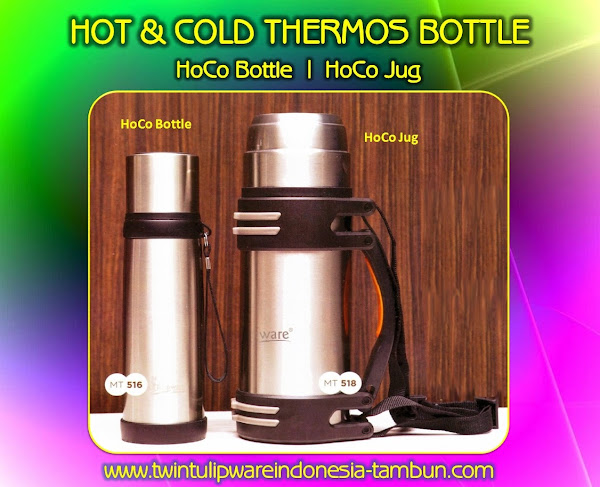 HoCo BOTTLE & HoCo JUG | Hot & Cold - Produk Tulipware Terbaru 2014