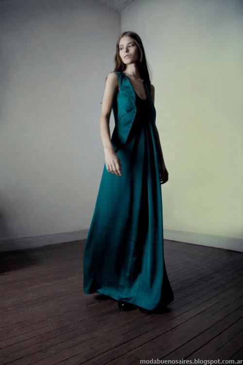 Vestidos invierno 2013 Daniela Sartori.