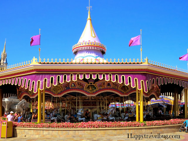 Carousel at Magic Kingdom