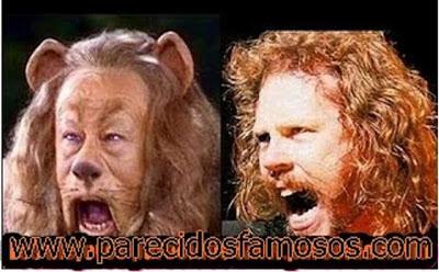 León Cobarde con James Hetfield