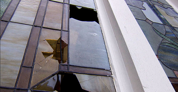 mars hill church portland VANDALISM%5B1%5D The damage to the historic stained glass windows of the Portland church was ...