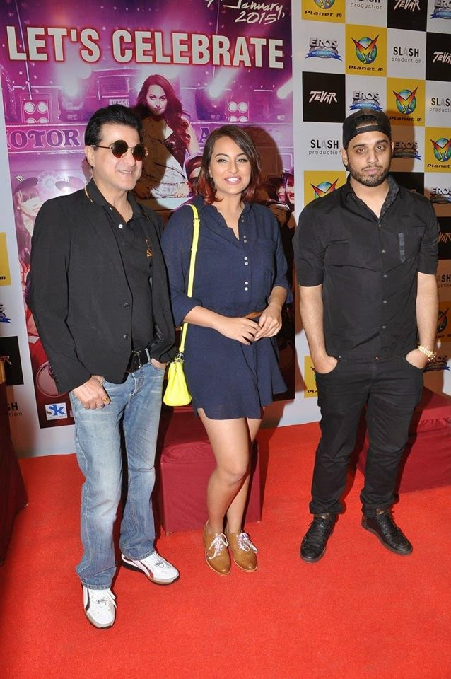Sonakshi Sinha, Sanjay Kapoor and Imran Khan Promote 'Let's Celebrate'