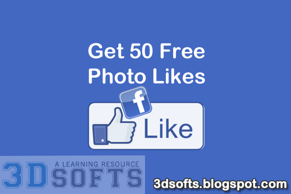 free facebook likes for photo