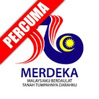 Percuma Vektor Logo Merdeka 56 | bighandesign blog