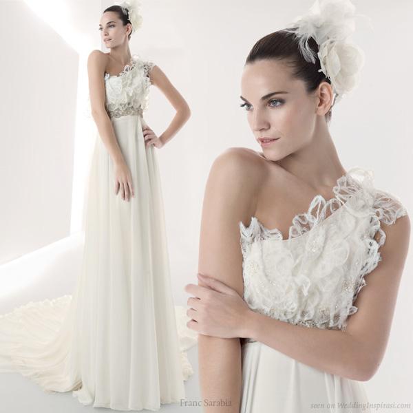 WEDDING DRESS BUSINESS Add Modern Elegance With One Shoulder Wedding Dresses