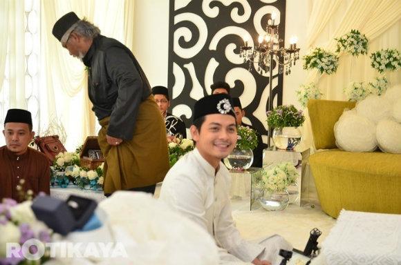Gambar Majlis Pernikahan Izzue Islam Dan Awin Nurin