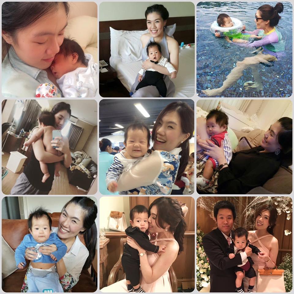Happy Mommy and Baby Peta