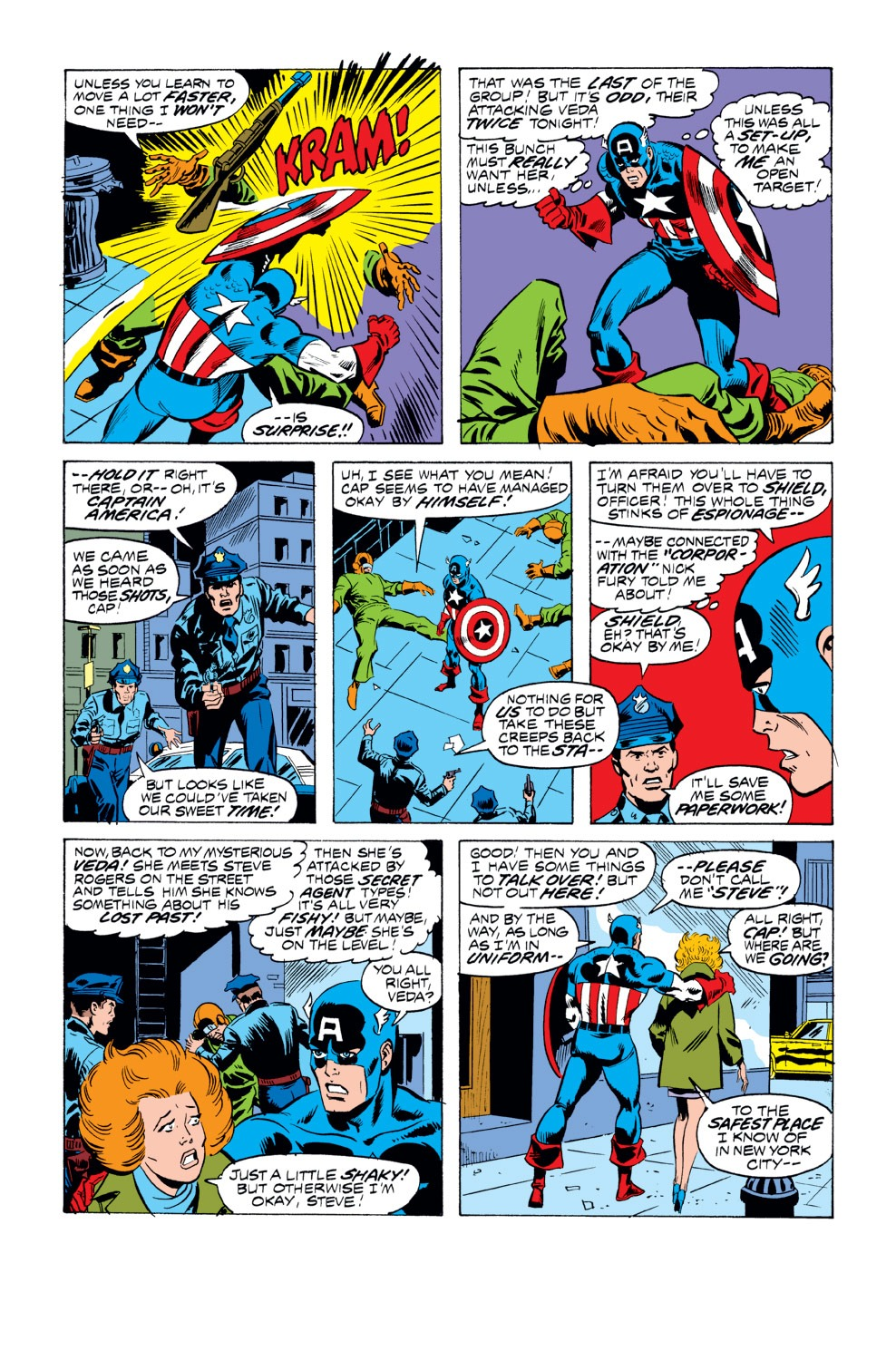 Captain America (1968) Issue #218 #132 - English 4
