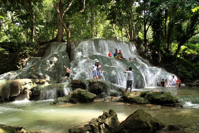 Panas Waterfalls, New Corella, Davao del Norte