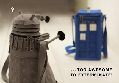 TARDIS & Dalek