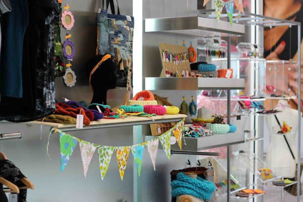 Boutique Premiers Flocons, corners Tangerinette et Incarnation