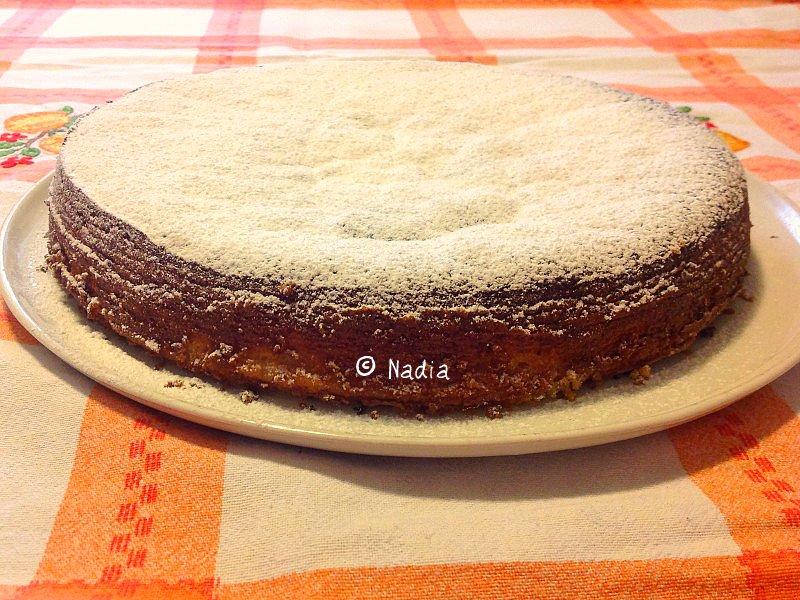 torta al cioccolato bianco profumata al limone