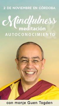 mindfullness, meditacion y autoconocimiento con monje Guen Togden