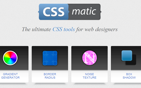 Collection of Helpful CSS Tools for Web Developers
