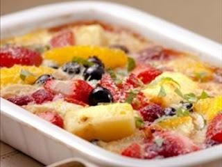 frutas gratinadas, frutas, recetas con frutas, recetas gratinadas, recetas, recetario, recetario digital, recetas de cocina, la sugerencia del chef